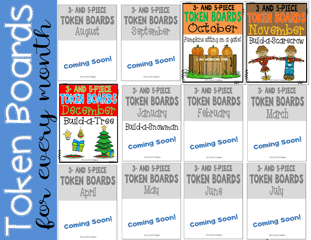 Monthly Token Boards