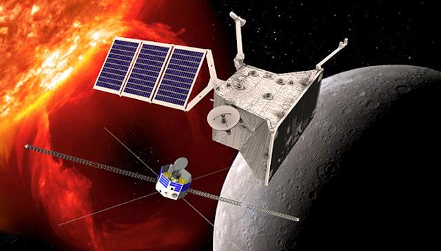BepiColombo - sondas Mercúrio
