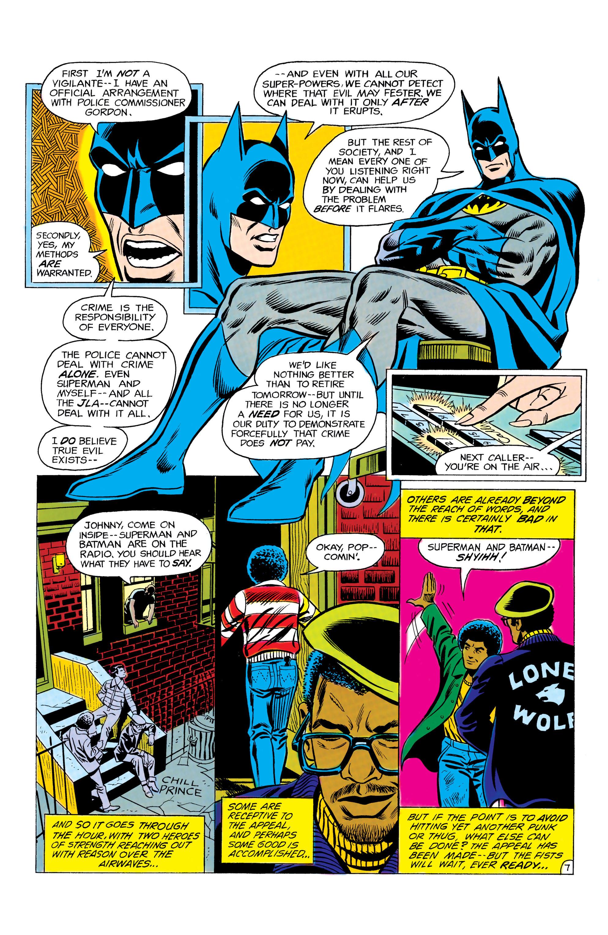 Read online World's Finest Comics comic -  Issue #292 - 8