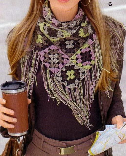 Increíbles Bufandas a Crochet