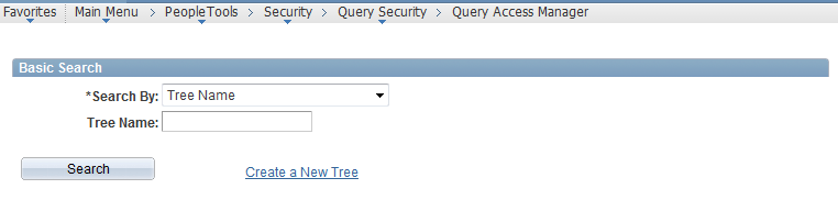 Creating PS query through Query Access Manager in PeopleSoft