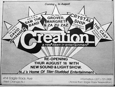 Creation band lineup