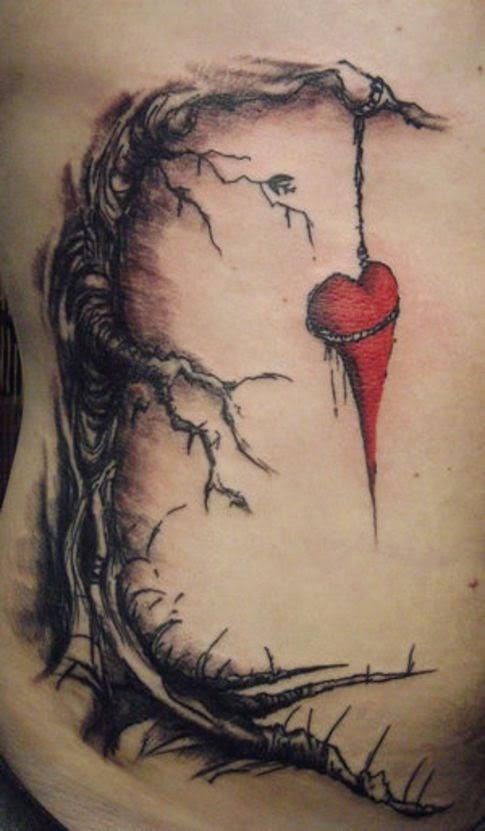 los tatuajes de corazones ideas y significado belagoria la web de los tatuajes. Black Bedroom Furniture Sets. Home Design Ideas