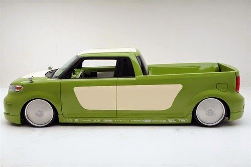 Scion Pickup Truck Side View