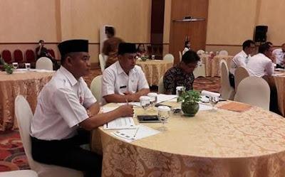 Sekda Bolsel Hadiri Rakor Seleksi Terbuka Jabatan Tinggi Pratama