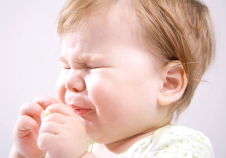 Persistent dry cough in children