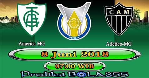 Prediksi Bola855 America MG vs Atletico-MG 8 Juni 2018