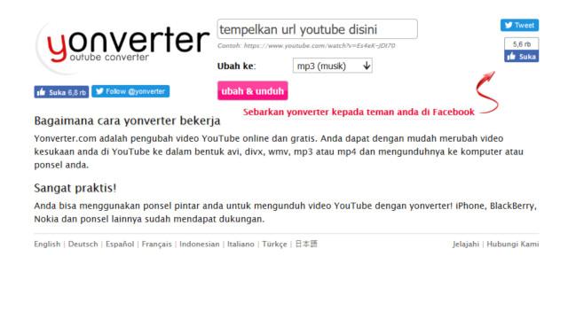 7 Situs Web Convert Video Youtube Menjadi MP3 Online Terbaik