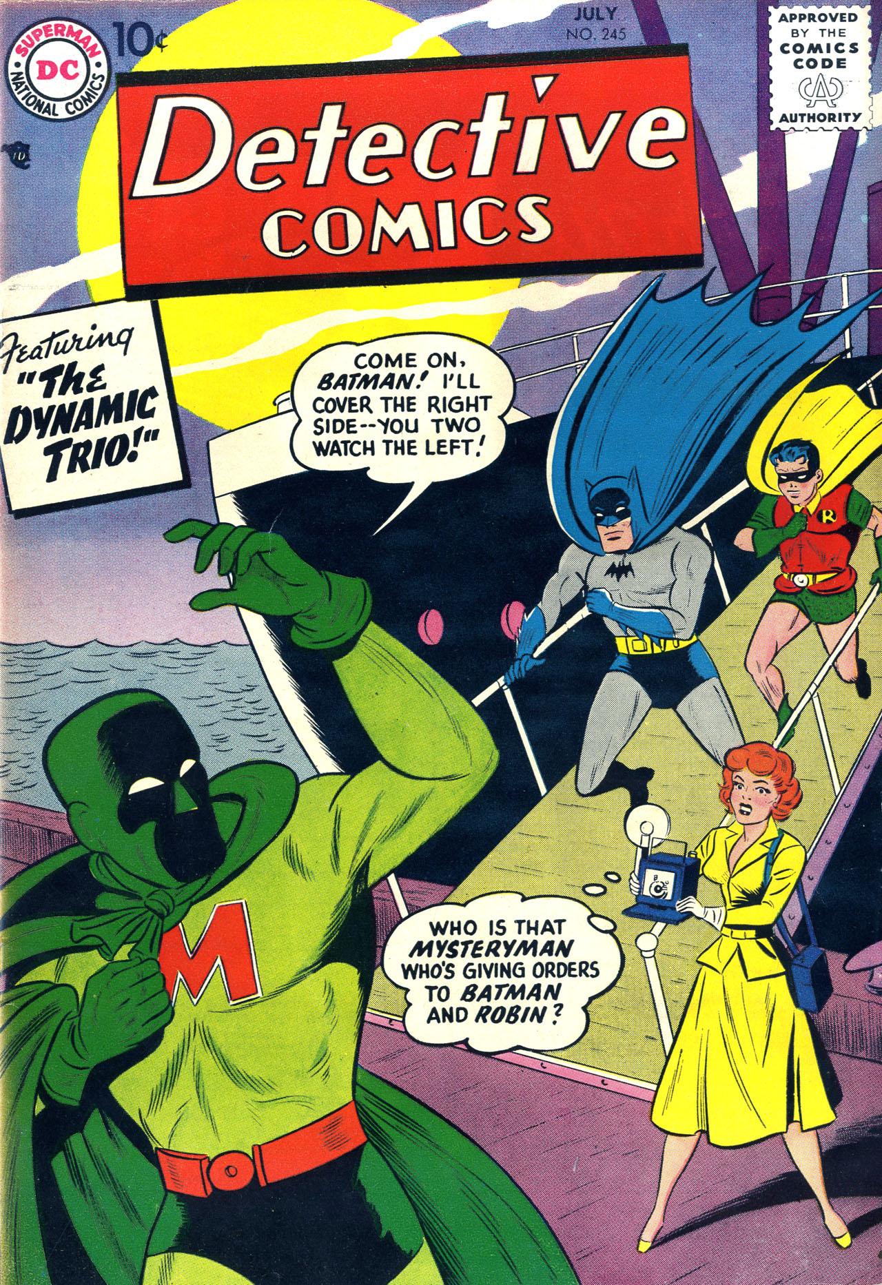 Read online Detective Comics (1937) comic -  Issue #245 - 1