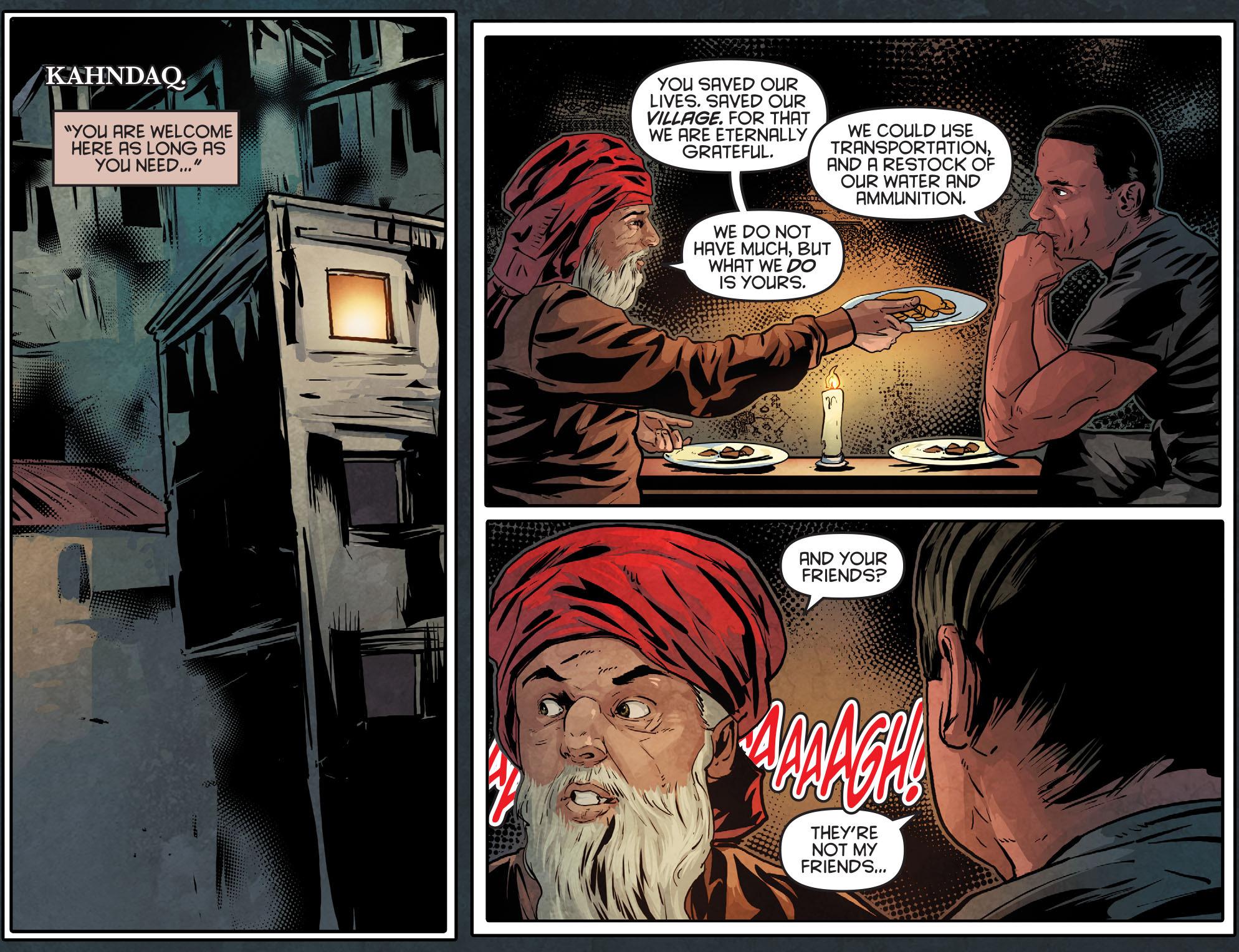 Read online Arrow: Season 2.5 [I] comic -  Issue #12 - 3
