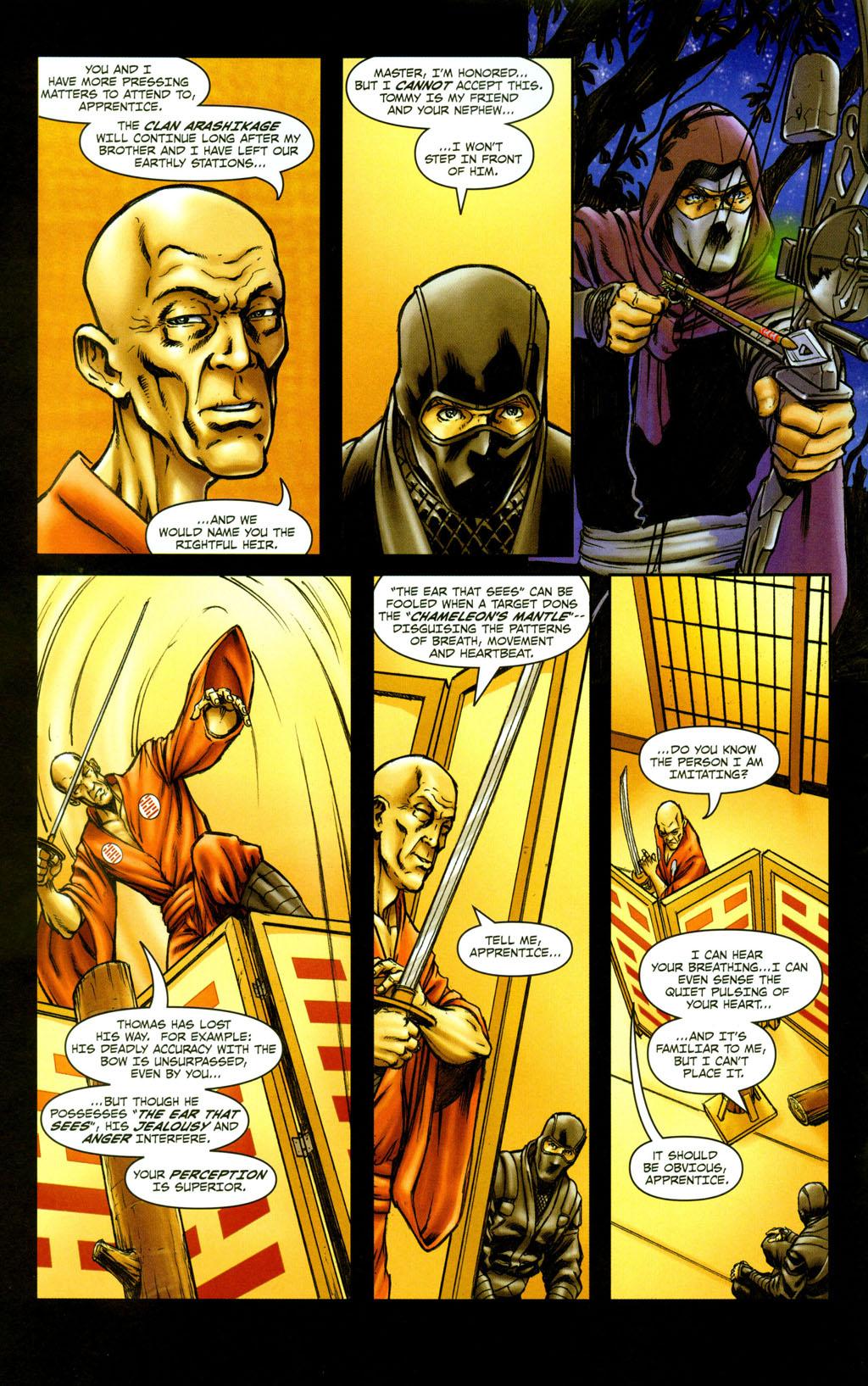 Read online Snake Eyes: Declassified comic -  Issue #5 - 10
