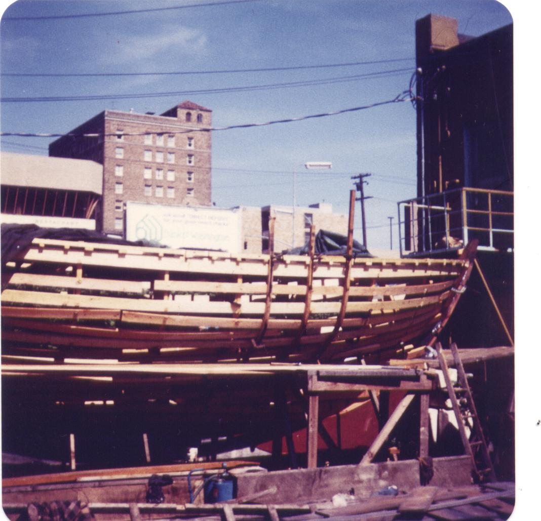 SV Abrazo: Alaska to Cape Horn: Construction Log: Framing with Steam ...