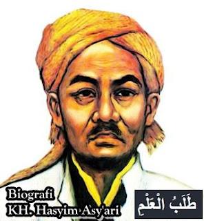 Biografi KH. Hasyim Asy'ari (نهضة العلماء)