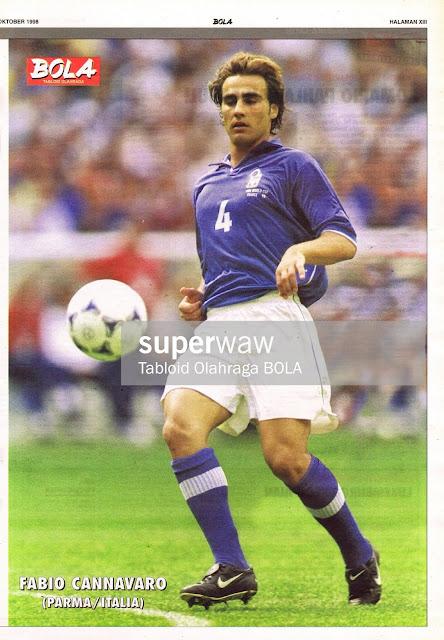 FABIO CANNAVARO ITALY 1998