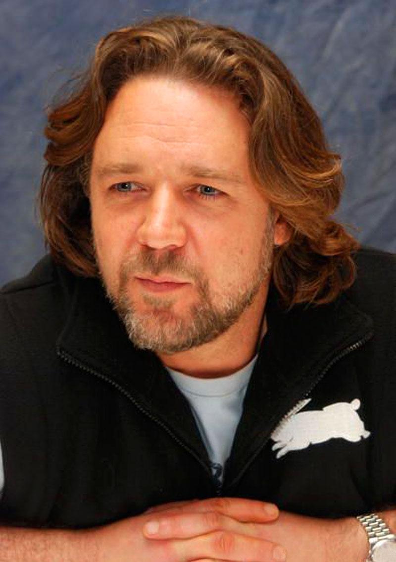 Russell Crowe Hairstyle Men Hairstyles Men Hair Styles