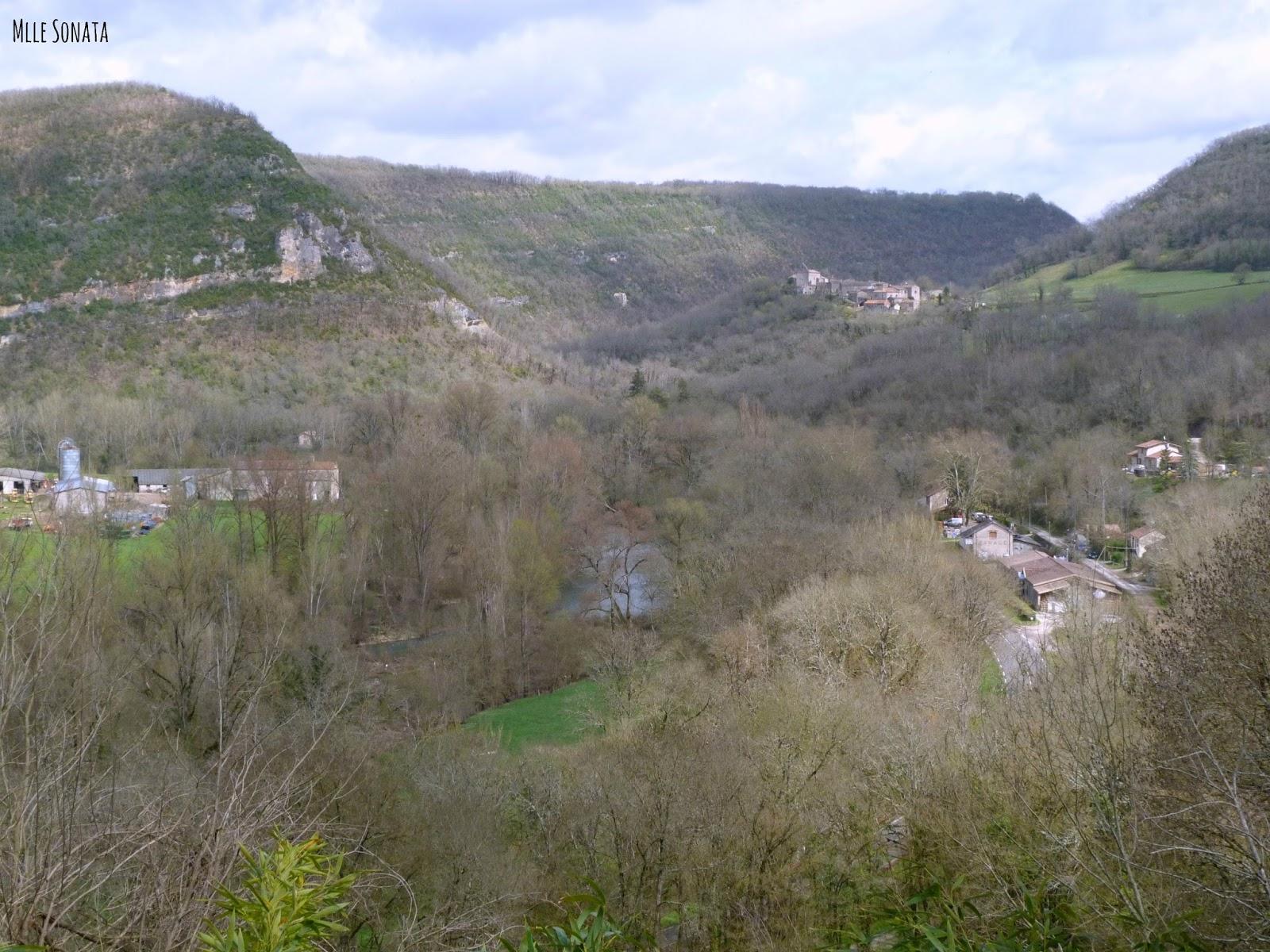 Village de Penne dans le Tarn