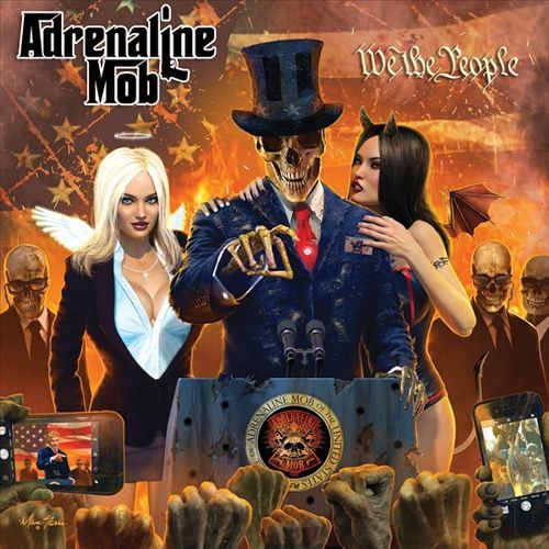 ADRENALINE MOB - We The People [Special Edition Digipak] (2017) full