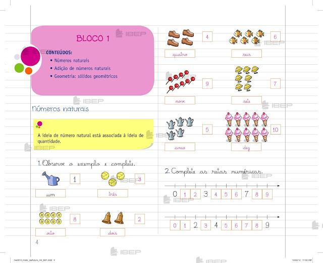 Caderno Do Futuro 2 Ano Matematica