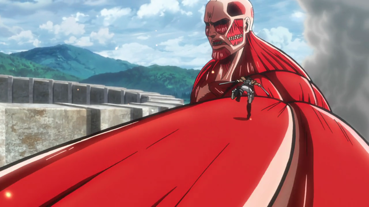 The Colossus Titan is a rather big guy