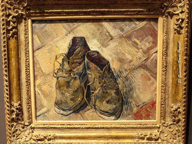 Van Gogh, Zapatos - MET, Nueva York por El Guisante Verde Project