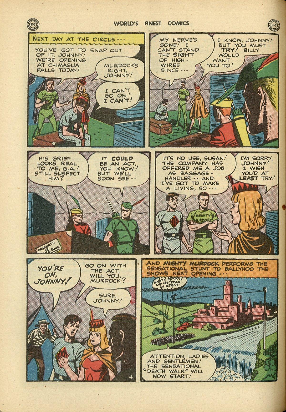 Read online World's Finest Comics comic -  Issue #26 - 54