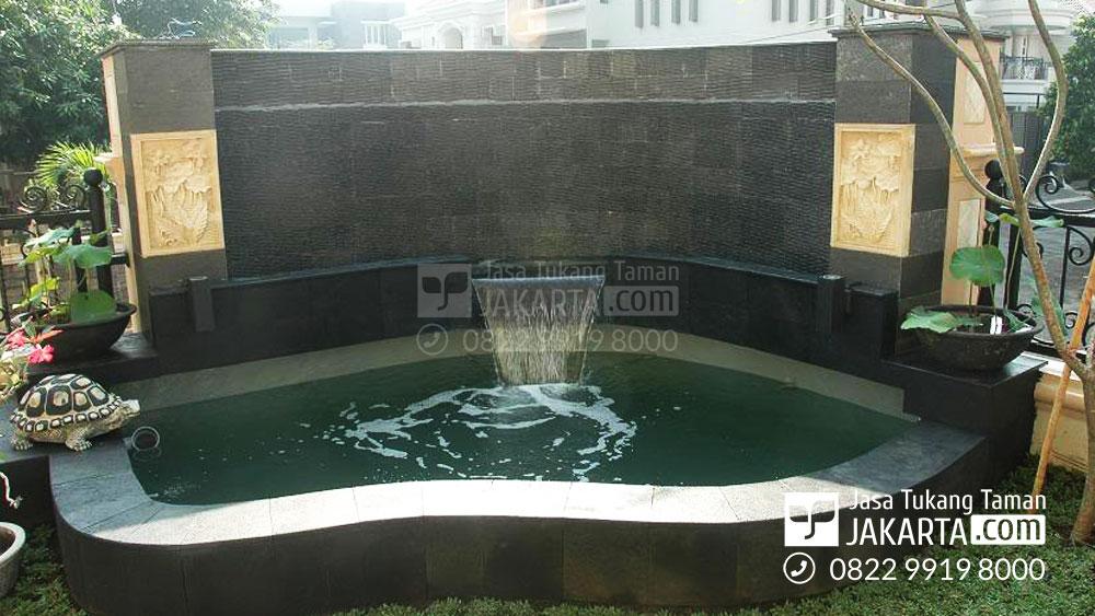 kolam hias koi dengan harga murah