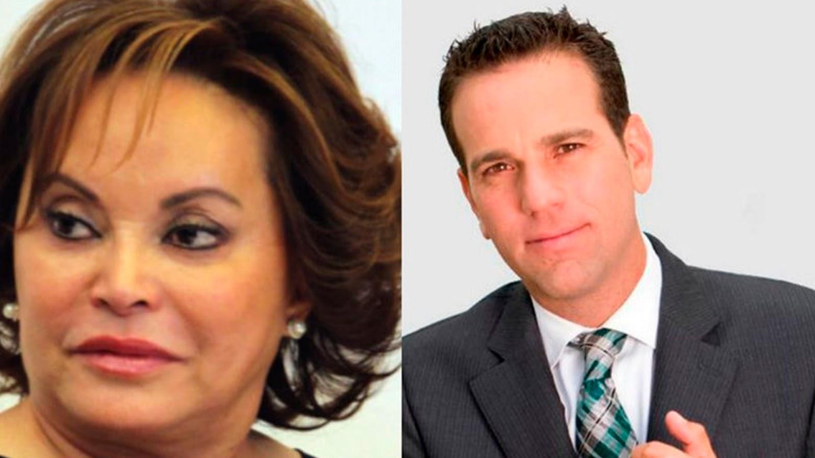 Elba Esther demandará a Carlos Loret de Mola por difamación.