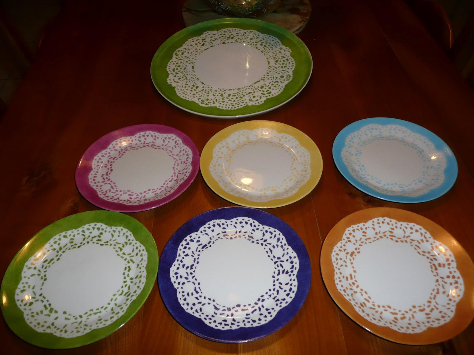 Peinture Sur Porcelaine Assiette passion, peinture et porcelaine: assiettes-napperons
