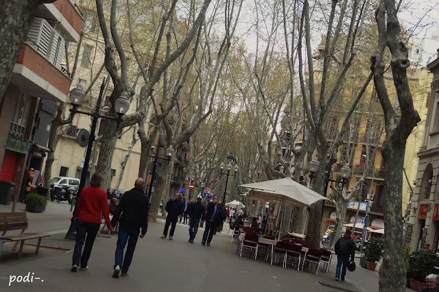 la Rambla del Poble Nou, Barcelona