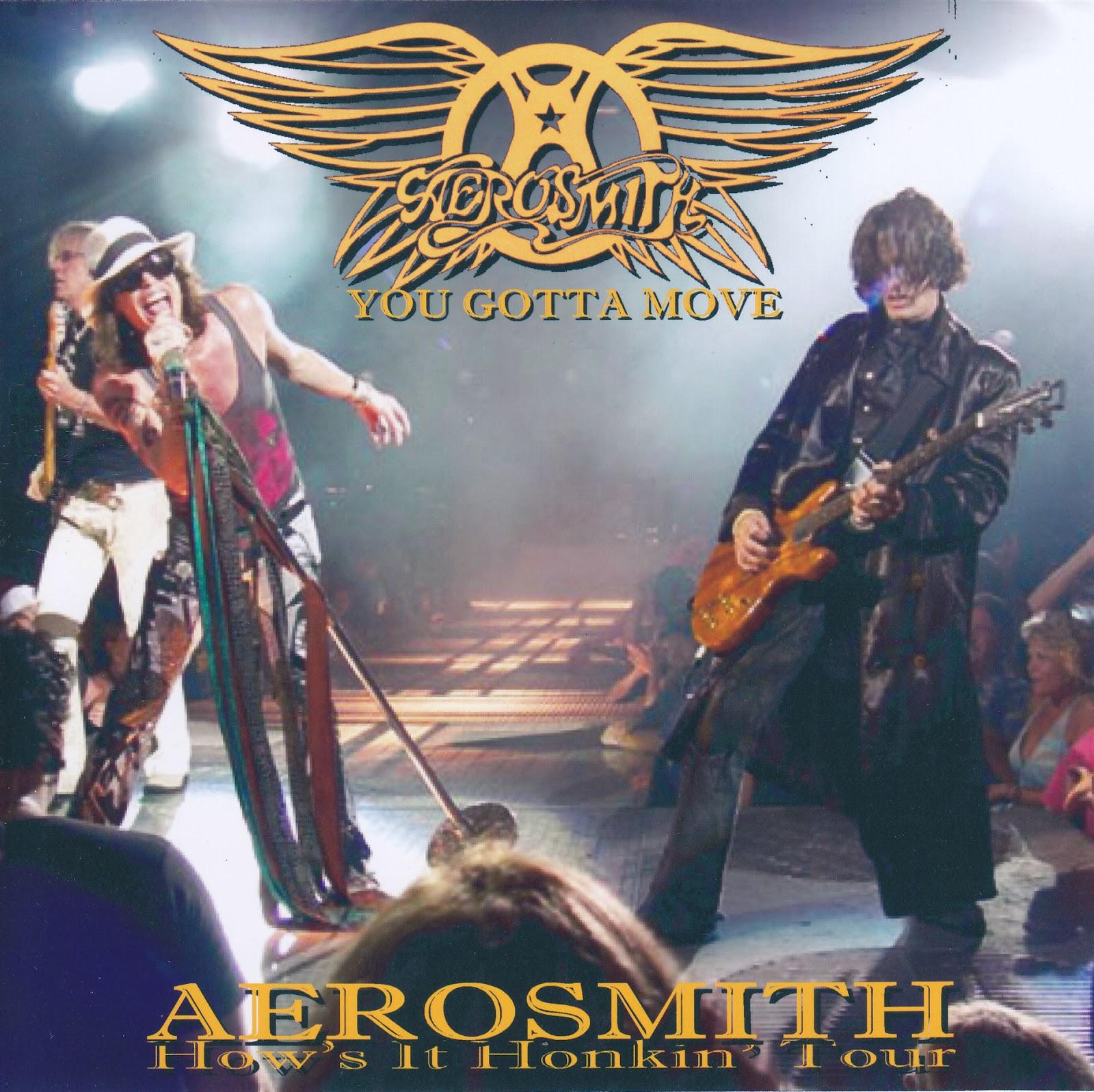 Aerosmith Bootlegs Cover Arts You Gotta Move Sunrise 2004