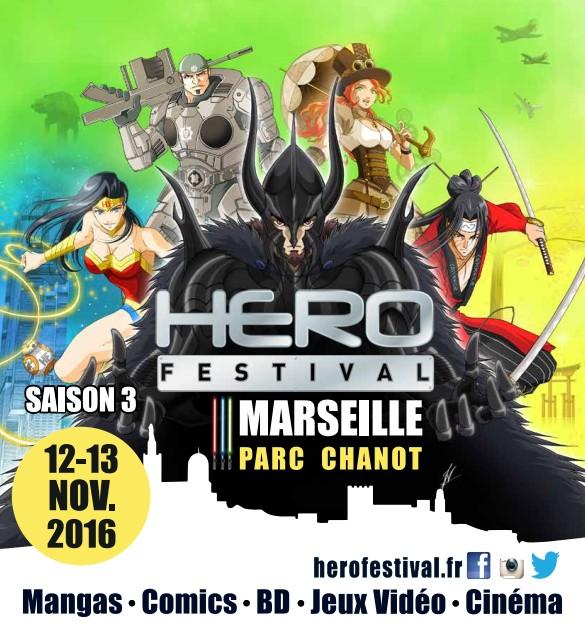HeroFestival les 12 et 13 novembre à Marseille