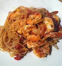 Linguine Fra Diavolo - Mama Melrose's The Recipes Of Disney Deglaze the pan with the cioppino broth. Bring to a simmer, add the shrimp and squid rings.