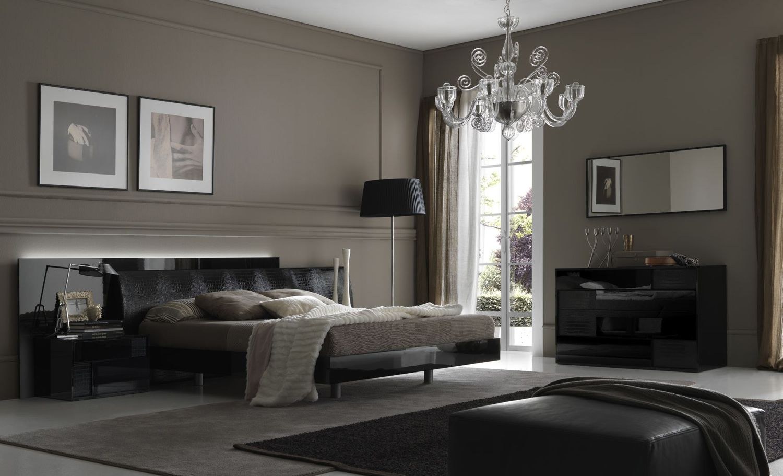 Dormitorios con paredes grises ideas para decorar - Paredes grises ...