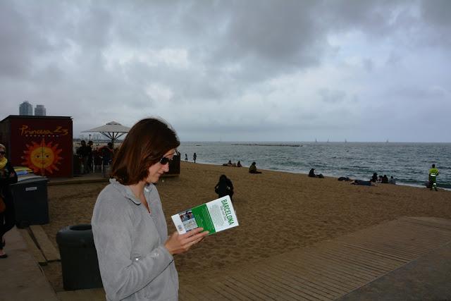 Platja de Sant Sebastia Barcelona