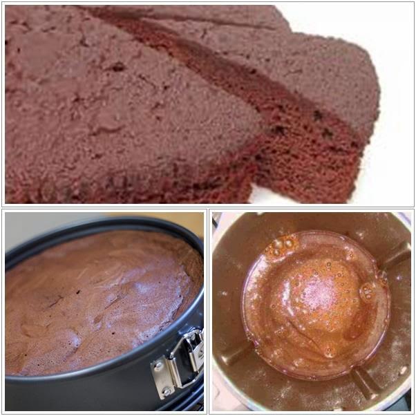 Ricetta Pan Di Spagna Al Cioccolato Bimby.Le Ricette Di Valentina E Bimby Pan Di Spagna Al Cioccolato
