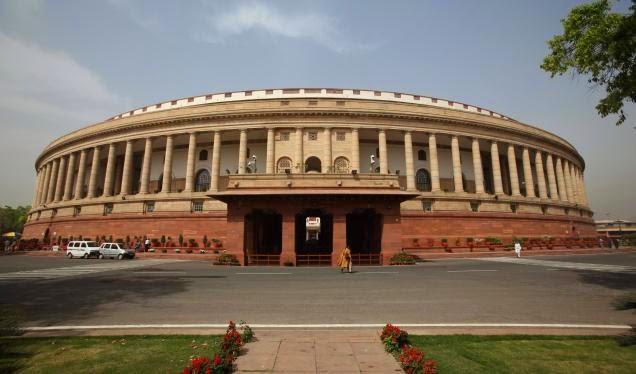 सद भवन में भारत की संसदीय कार्यवाही होती है। संसद की इमारतों में संसद भवन, संसदीय सौध, स्वागत कार्यालय और निर्माणाधीन संसदीय ज्ञानपीठ अथवा संसद ग्रंथालय सम्मिलित हैं। इन सभी को मिलाकर 'संसद परिसर' कहा जाता है।
