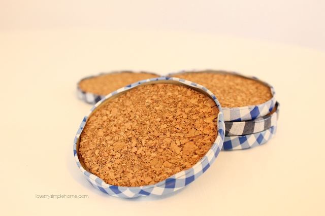 blue-and-white-gingham-coasters