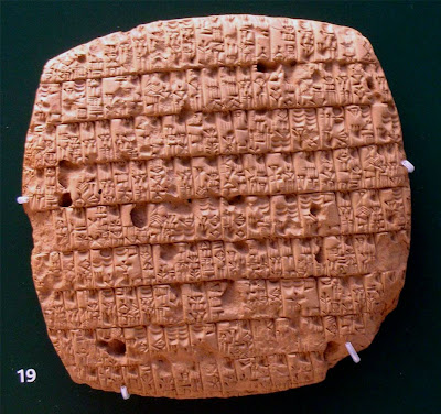 Drought may have killed Sumerian language