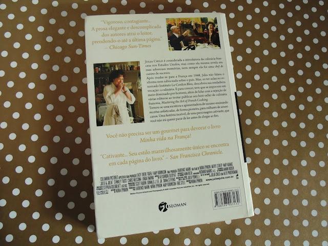 livro Minha Vida na França - Julia Child