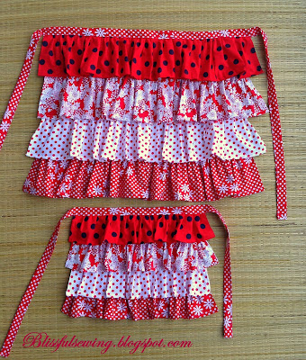 apron, sewing, pattern, girl, girls,adult, women, stitching, tutorial, ruffled, easy, free, diy, clothing, dress