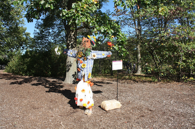 Walking The Scarecrow Trail at Morton Arboretum