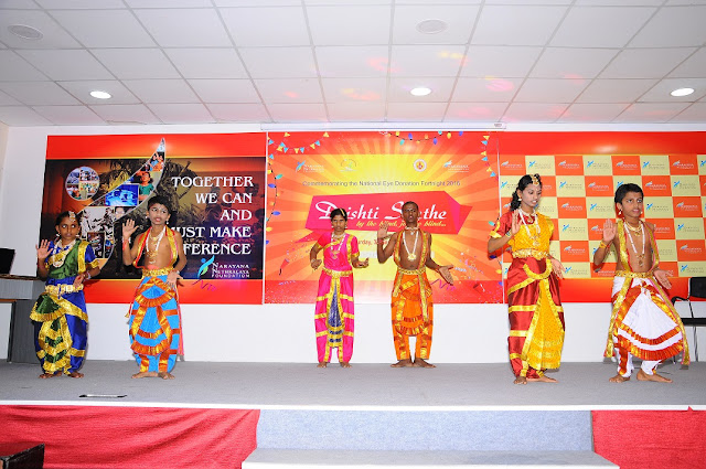 Dance Drama by Visually Challenged Children