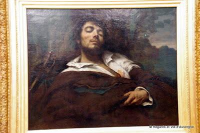 Autoportrait : Gustave Courbet.