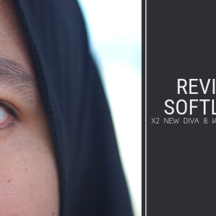 Review SoftLens: X2 New Diva & Koko Black