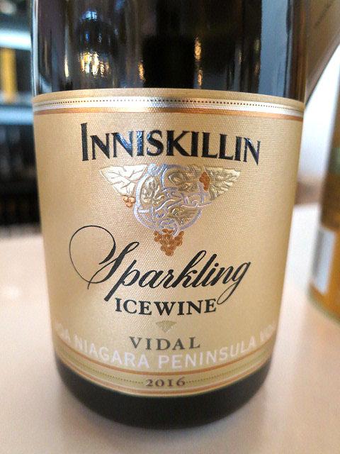 Inniskillin Vidal Sparkling Icewine 2016 (91 pts)