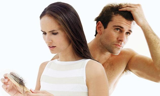 Nguyên nhân tóc rụng nhiều vì sao