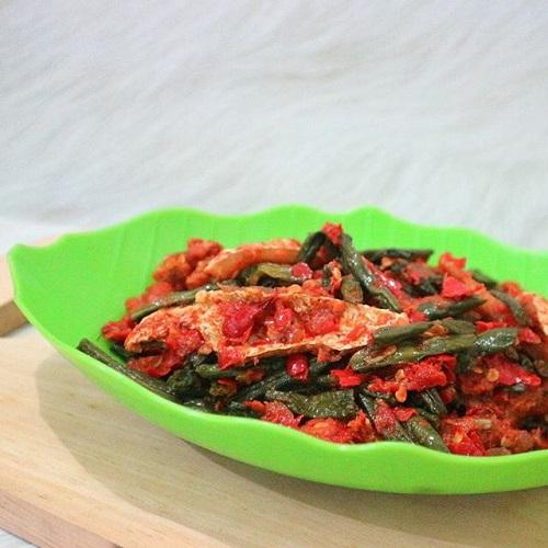 Resep Balado Ikan Kacang Panjang