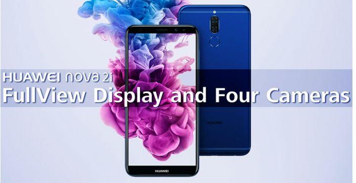Huawei Nova 2i With 4 Cameras