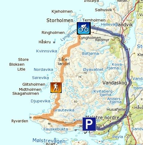 ryvarden fyr kart Goturen: Ryvarden   fra Lyngholm ryvarden fyr kart