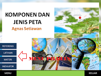 Power Point Interaktif Jenis-Jenis Peta